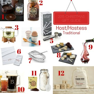 Gift Guide 2015: Host & Hostess (Traditional)