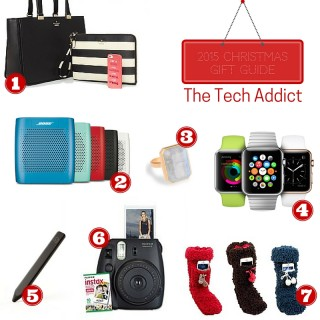 Gift Guide 2015: The Tech Addict