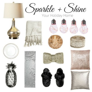 Add Sparkle + Shine To Your Holiday Home
