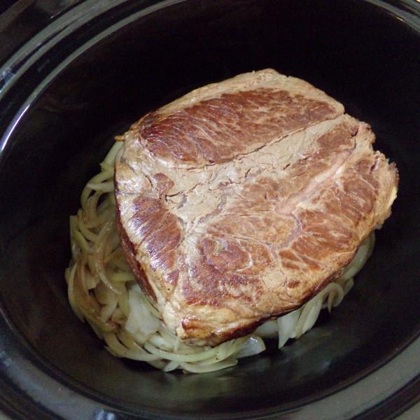 beer braised beef rib roast