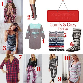 Gift Guide 2015: Cozy Comfort (For Her)