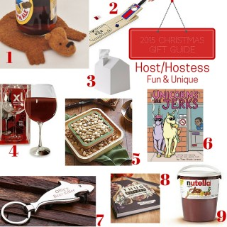 Gift Guide 2015: Host & Hostess (Fun & Quirky)