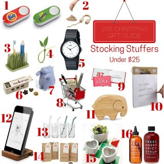 Gift Guide 2015: Stocking Stuffers Under $25