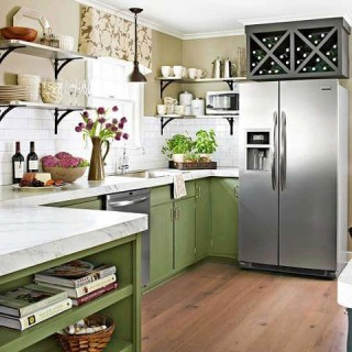 How To Re-Create The Open Shelving Trend In Any Kitchen
